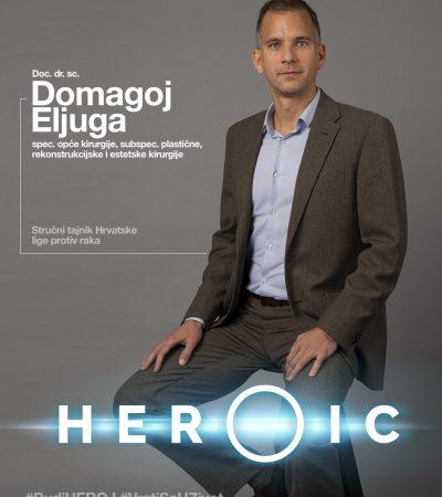 HEROIC – doc. dr. sc. Domagoj Eljuga (kirurg) – Herojski u borbu protiv raka!