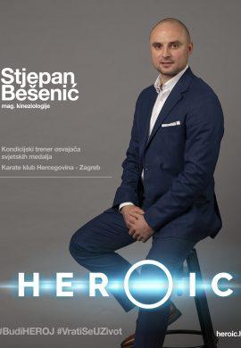 HEROIC – Stjepan Bešenić (kineziolog) – Kako onkološki bolesnici trebaju započeti s vježbanjem?