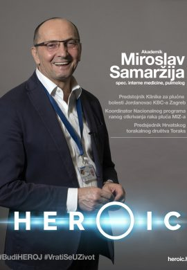 HEROIC – akademik Miroslav Samaržija (pulmolog) – Rak pluća u Hrvatskoj
