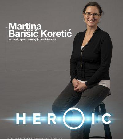 HEROIC – Martina Barišić Koretić (onkolog) – Kako se boriti sa rakom pluća?