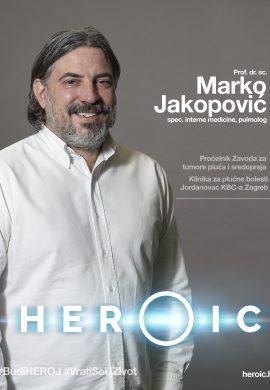 HEROIC – prof. dr. sc. Marko Jakopović (pulmolog) – Liječenje raka pluća, nekada i danas!