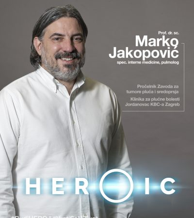 HEROIC – prof. dr. sc. Marko Jakopović (pulmolog) – Trebamo se herojski boriti protiv raka pluća!