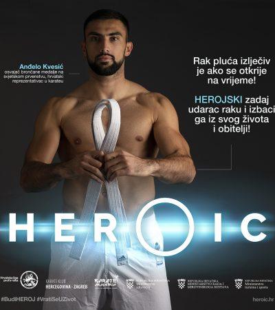 HEROIC – Anđelo Kvesić, hrvatski karate reprezentativac – U obitelji smo herojski pobijedili rak!
