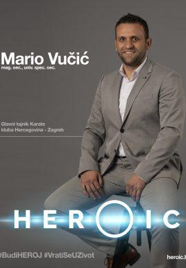 HEROIC – Mario Vučić (gl. tajnik KKHZ) – Što povezuje karate i onkološku skrb kod raka pluća?