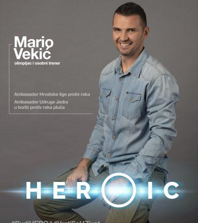 HEROIC – Mario Vekić (olimpijac i ambasador protiv raka) – Hrvatska je na putu prevencije HPV-a!