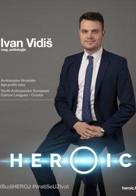 HEROIC – Ivan Vidiš (mladi ambasador Europske lige protiv raka) – 12 europskih kodova protiv raka!