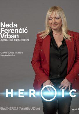 HEROIC – dr. Neda Ferenčić Vrban (gl. tajnica Hrvatske lige protiv raka) – O projektu HEROIC