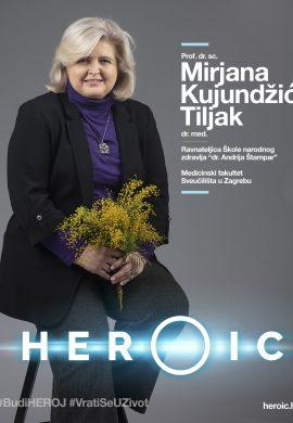 HEROIC – Prof. dr. sc. Mirjana Kujundžić Tiljak – Herojskim djelovanjem možemo iskorijeniti hpv!