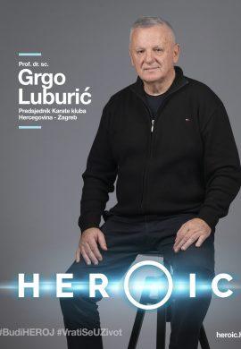 HEROIC – Prof. dr. sc. Grgo Luburić (predsjednik KKHZ) – Karate pomaže onkološkim bolesnicima!