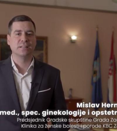 HEROIC – Dr. med. Mislav Herman, spec. ginekologije i opsetricije – Prevencija HPV-a u gradu Zagrebu