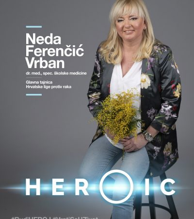 HEROIC – Dr. med. Neda Ferenčić Vrban ( školska medicina) – Zajedno na putu prema eliminaciji HPV-a!