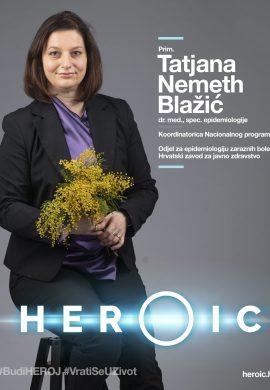 HEROIC – Prim. Tatjana Nemeth Blažić (epidemiolog) – Kombinirana prevencija je najuspješnija metoda!