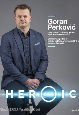 HEROIC – Mag. pharm. Goran Perković ( klinički farmaceut) – HPV je izrazito raširen u populaciji!