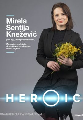HEROIC- Prof.log. Mirela Šentija Knežević (Grad Zagreb) – Prevencija je ključna u borbi protiv raka!