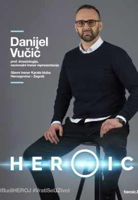 HEROIC – Prof. cin Danijel Vučić – Tjelovježba je ključna za oporavak onkoloških pacijenata!
