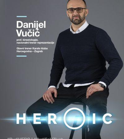 HEORIC – Prof. cin. Danijel Vučić – Kroz karate tijelo se priprema za borbu protiv raka!